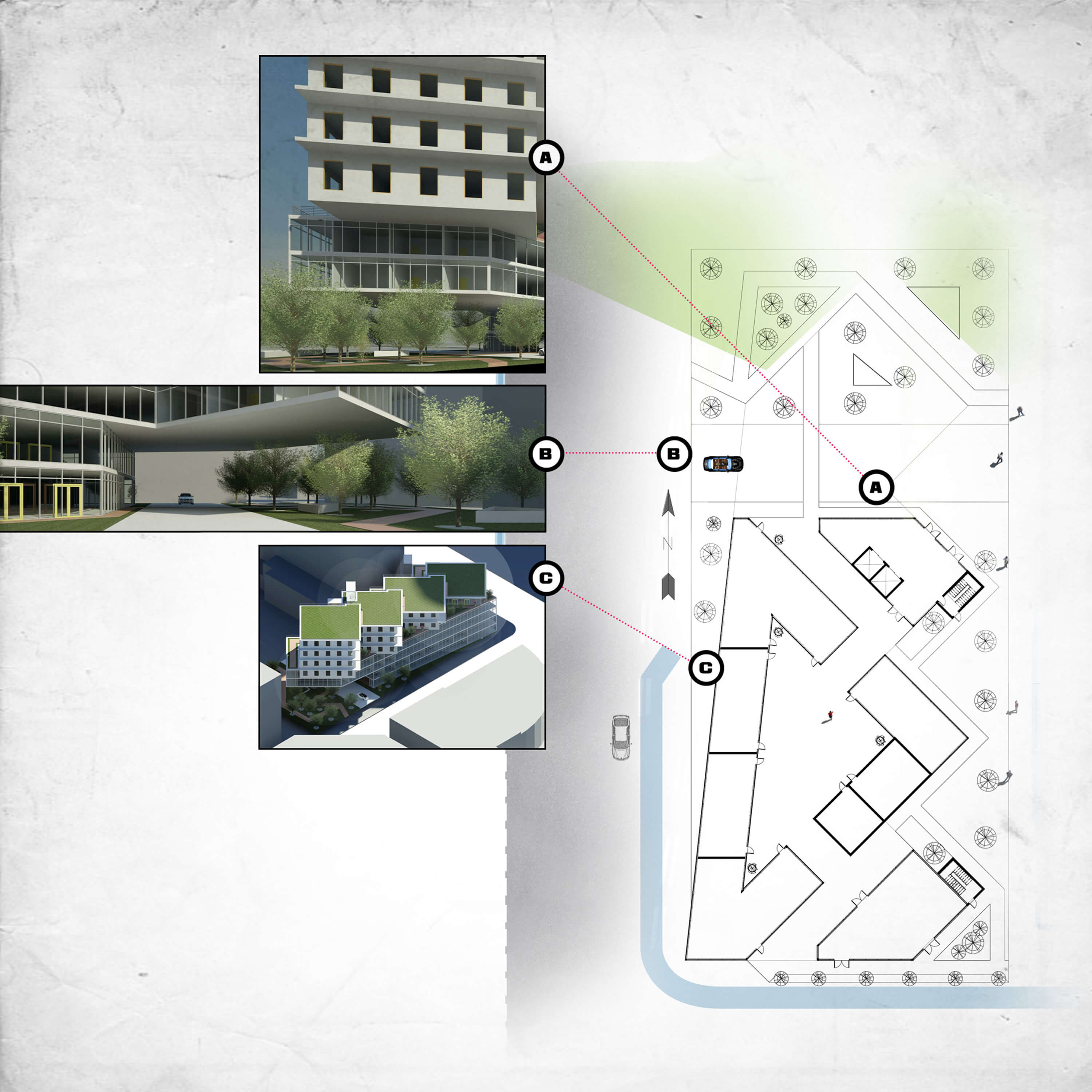 school Environmental Design - Plan